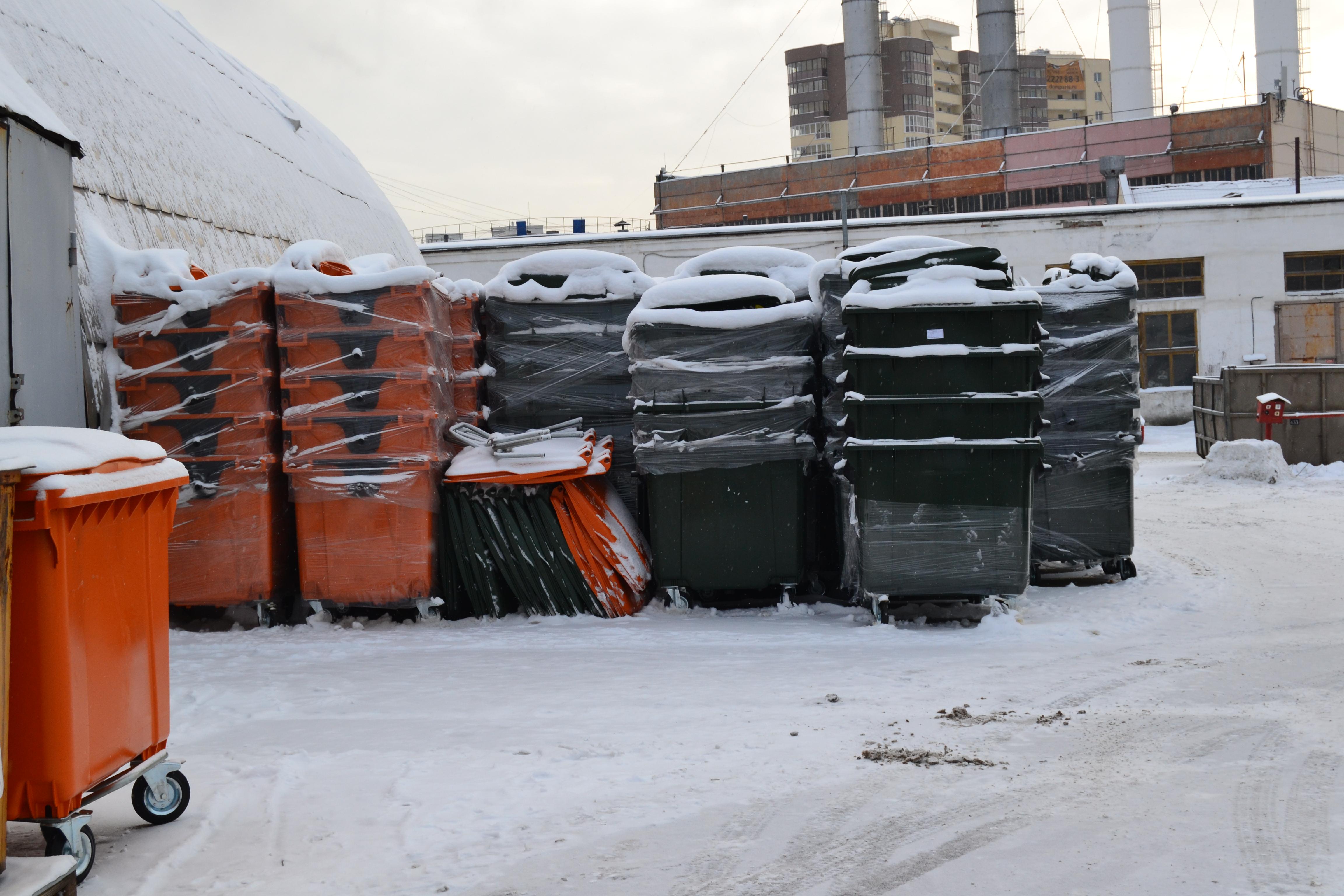 13.05.2019 г. В Восточном кластере ведется активная работа по установке и замене контейнеров.